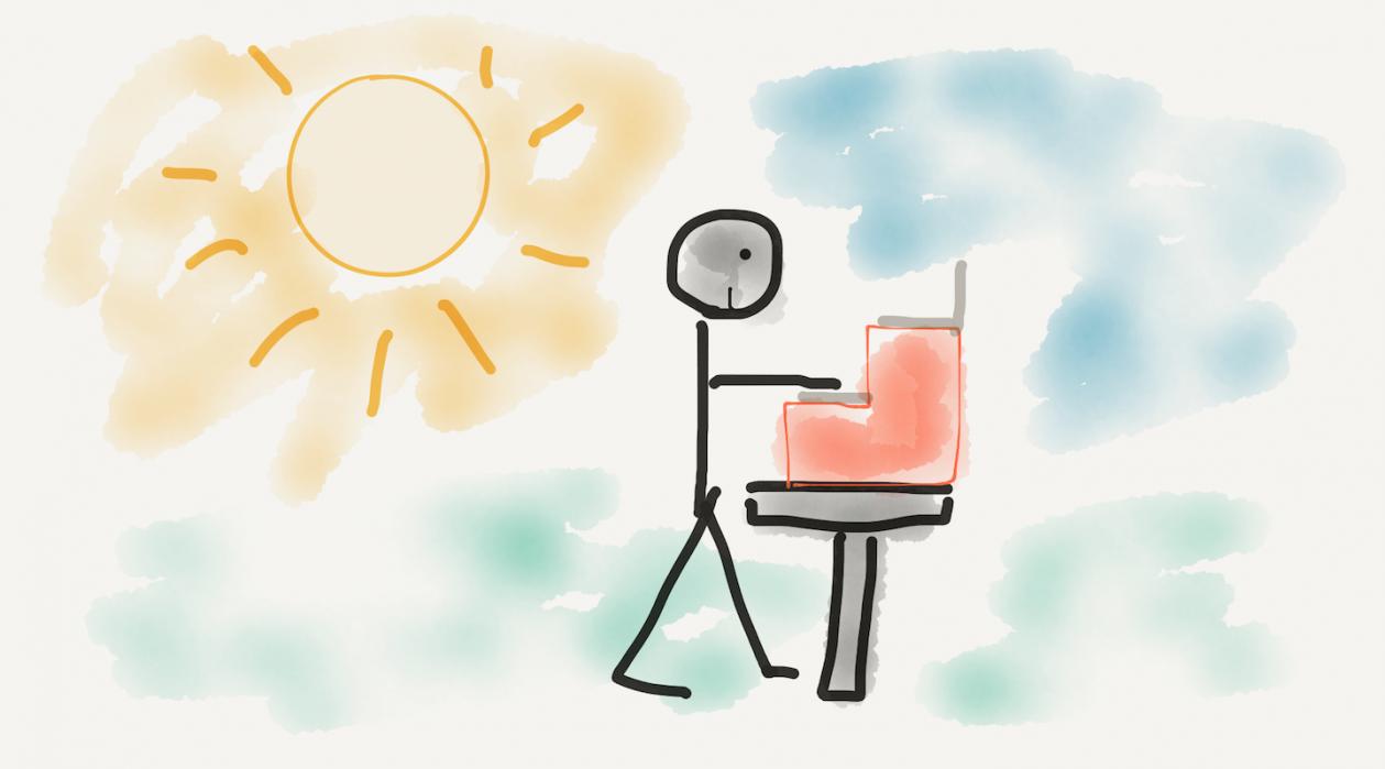 biurka do pracy na stojąco